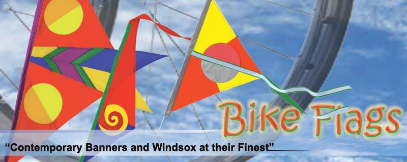 Bike Flags and Spinners